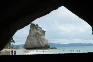 Cathedral Cove Post