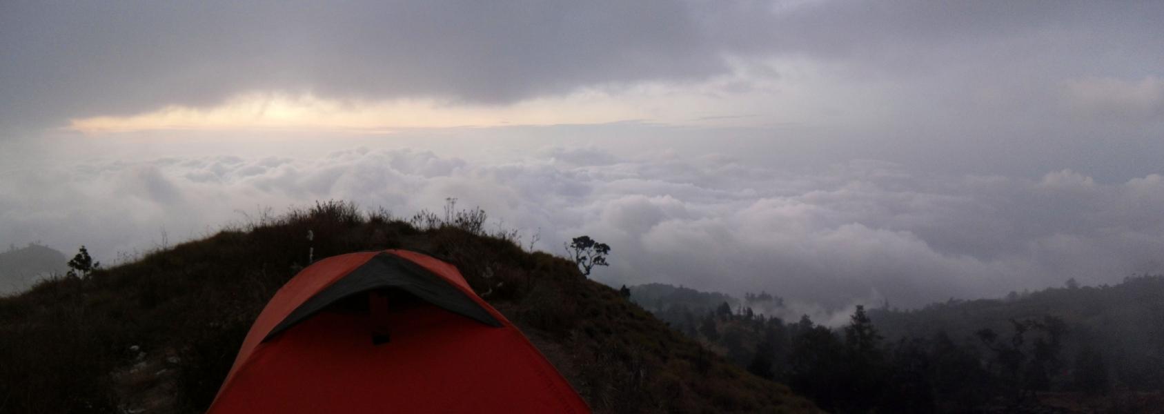 Trekking auf den Rinjani